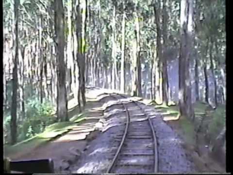 Steam Rail from Coonoor to Ooty on Nilgiri Mountain Railway