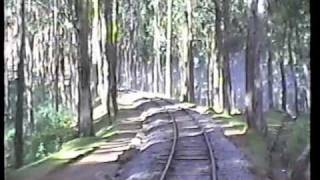 Steam Rail from Coonoor to Ooty on Nilgiri Mountain Railway