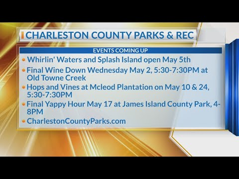 May happenings in Charleston County Parks