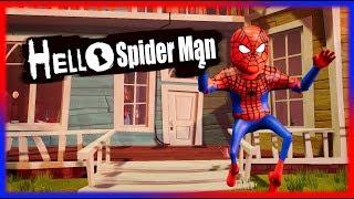 HELLO SPIDERMAN   Hello Neighbor Mod