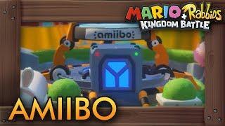 Mario + Rabbids Kingdom Battle - All Amiibo Rewards