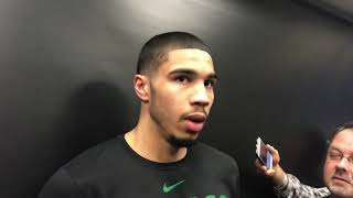 "Jayson Tatum on Anthony Davis rumors: ""It's good to be wanted"""