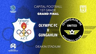 2019 NPL Capital Men's Preliminary Final - 1st Grade - Canberra Olympic v Gungahlin United