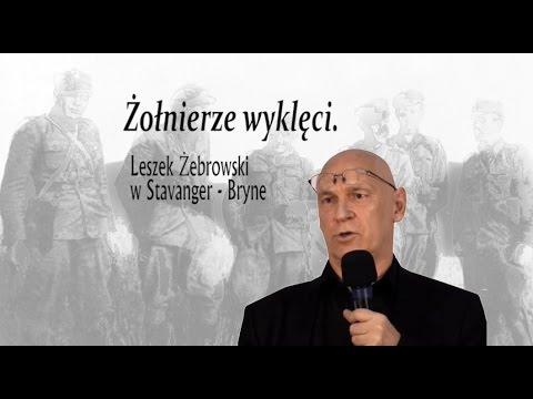 Żołnierze Wyklęci - Leszek Żebrowski w Stavanger - Bryne 18.02.2017