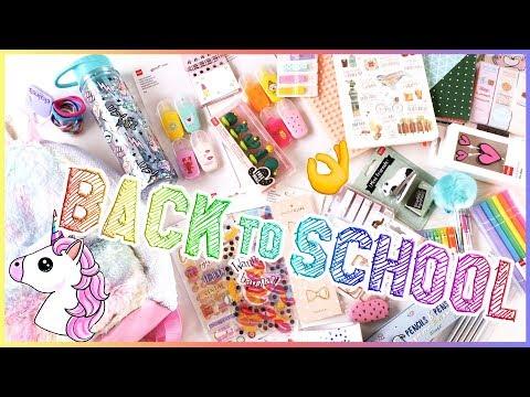 BACK TO SCHOOL 2018 | ПОКУПКИ К ШКОЛЕ | КАНЦЕЛЯРСКИЕ ПОКУПКИ | MAKEUPKATY
