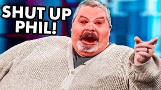 Fat Guy SNAPS Back At Dr Phil After He Said This...