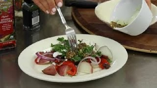Greek Red Potato Salad With Feta : Greek Salads & Other Healthy Recipes