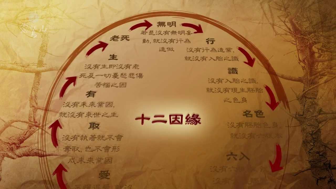 靈鷲山-十二因緣圖 - YouTube