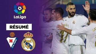 VIDEO: Résumé : Avec un Benzema en feu, le Real Madrid corrige Eibar !