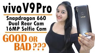 Vivo V9 Pro - Unboxing & Overview In HINDI