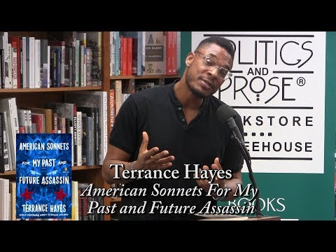 """Terrance Hayes, """"American Sonnets for my Past and Future Assassin"""""""