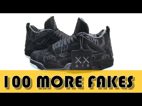 ANOTHER 100 FAKE SNEAKERS