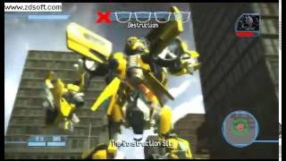 Transformers The Game: Bumblebee vs Barricade