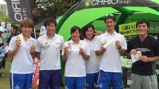 2015世界トライアスロンシリーズ横浜大会にクリオがブース出展致しまし...