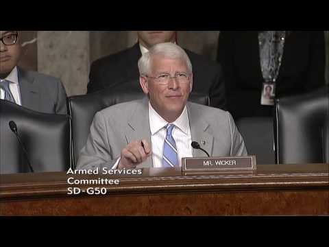 Wicker Questions Joint Chiefs of Staff