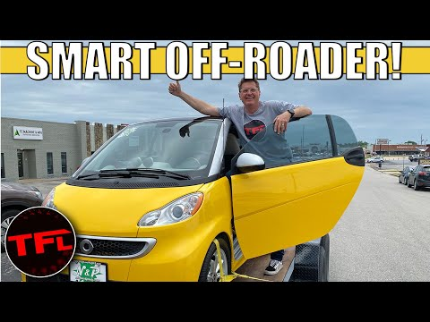 I Just Bought An Electric Smart Car, And I'm Turning It Into An OFF-ROADER! (Yes, Really)