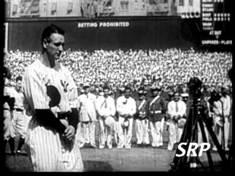 Greatest Sports Legends- Lou Gehrig's Farewell Speech