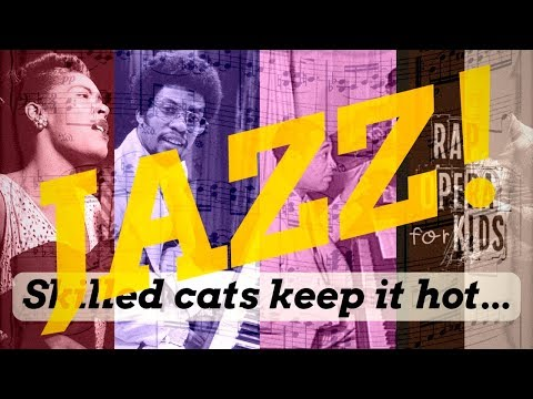 Jazz Music History Song Part 2: Jazz Musicians  Rap Opera for Kids