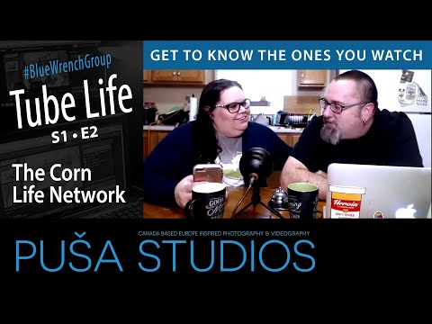 Puša Live Steam #006: The Corn Life Network & Butterfly Brooke