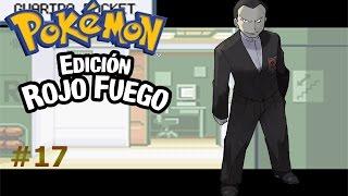 Pokémon Rojo Fuego capítulo 17 Primer encuentro con el jefe del Team Rocket
