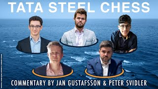 Tata Steel Chess 2020 Live Commentary | Round 8
