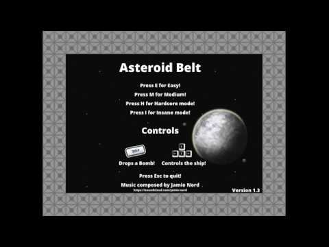 Asteroid Belt .... How Long Will You Survive? (Free To Download- Check The Description)
