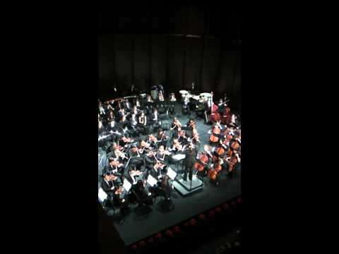 Greater Miami Youth Symphony, Defying Gravity, from Wicked musical.