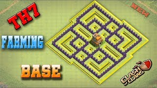 Best Town Hall 7 (TH7) Farming Base Design  2018   Clash Of Clans New Updated