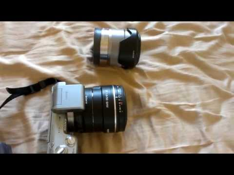 LA-EA1 Adapter Review - SAL50F18 Sony NEX 5N - YouTube