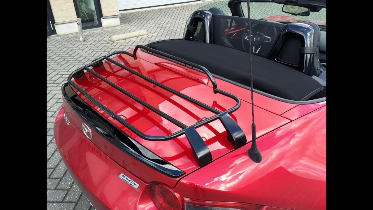Cabrio Supply Mazda Mx5 Luggage Rack Limited Black