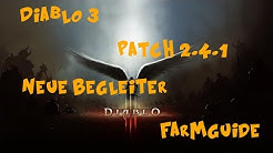 Diablo 3 Patch 2.4.1 Neue Begleiter-Farmguide