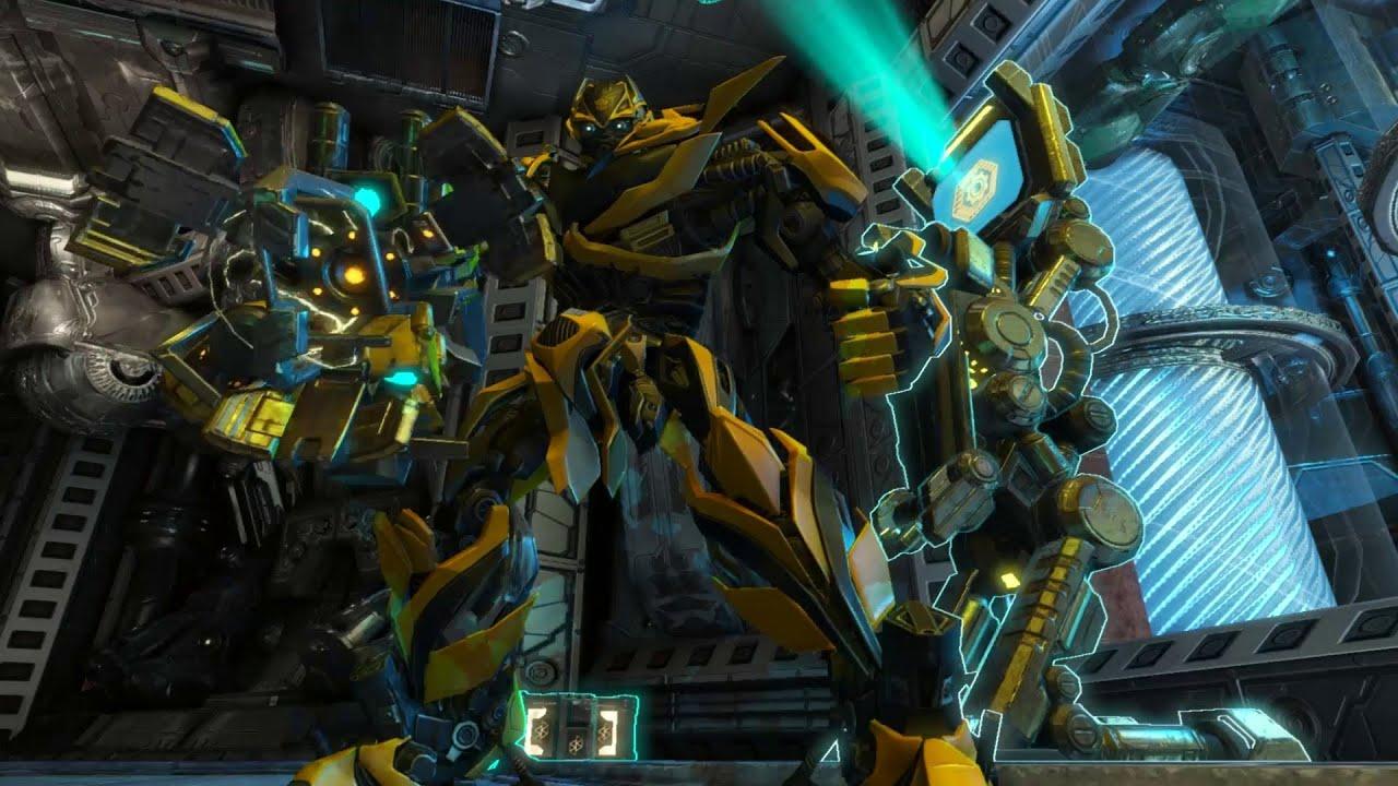 Transformers Rise Of The Dark Spark Escalation Gameplay Trailer