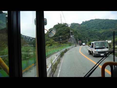 【前面展望】宝塚駅前~舟坂~有馬温泉ターミナル【阪急バス・95系統】
