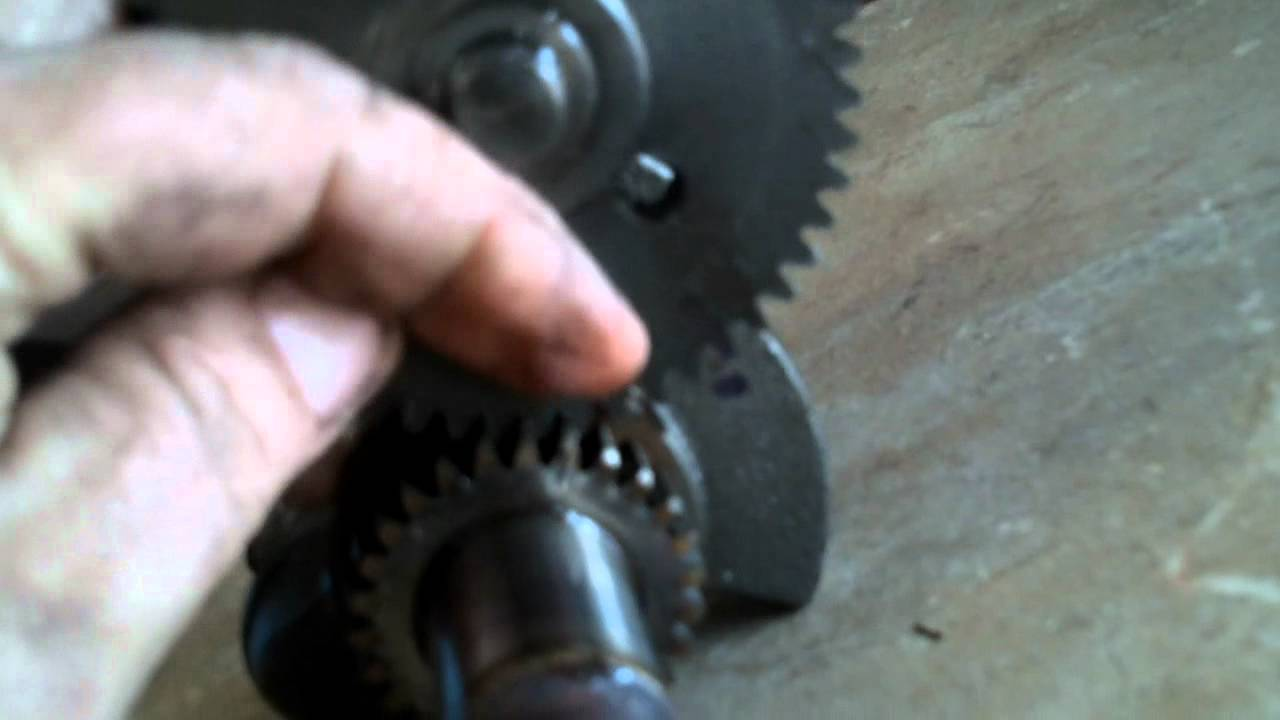 How To Set The Engine Valve Timing Youtube Small Camshaft Diagram