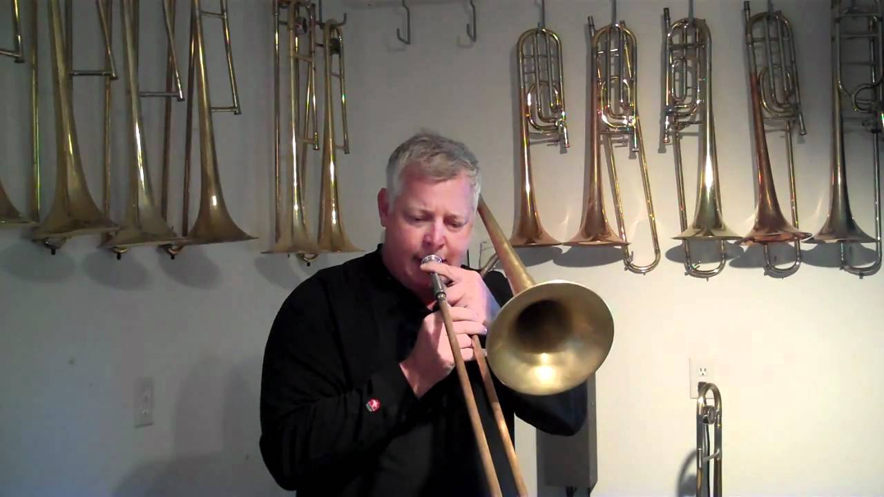 Conn 6H vs  King 3B Trombone Play Test at The Brass Exchange