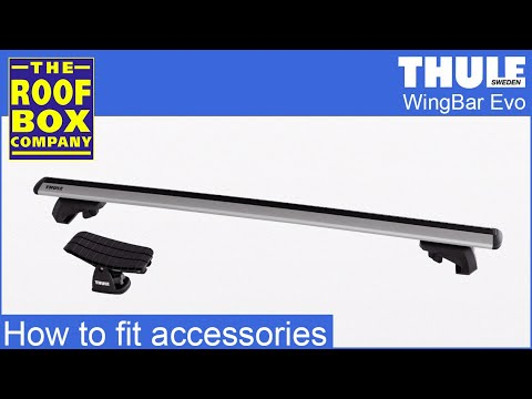 Thule Wingbar Evo Roof Bars How To Attach Accessories Youtube