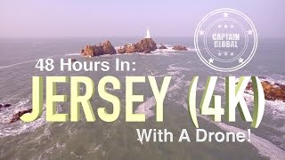 Jersey From Above by Drone (UHD, 4K Aerial footage)