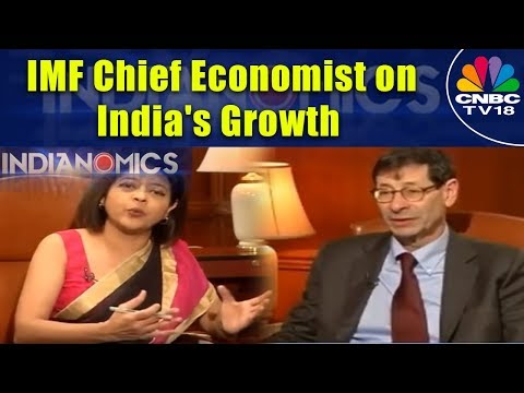 IMF Chief Economist on India's Growth | Outlook 2018 | Indianomics | CNBC TV18