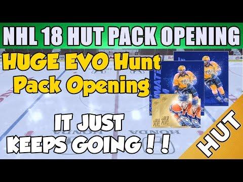 FINAL HUNT FOR EVO SCHENN!! - NHL 18 HUT - Hockey Ultimate Team - Collectors Packs