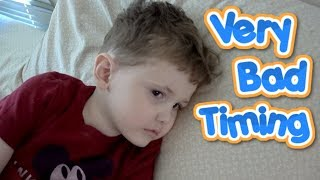 Stomach flu has invaded our house with the worst timing ever! Just ...