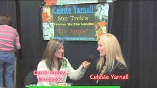 Celeste Yarnall of Star Trek Fame, at Nuke The Fridge Con!