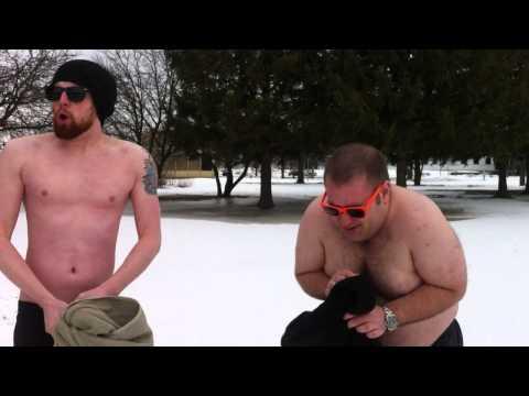 98.9 The Drive Dive Team -- Polar Plunge Training Video #1