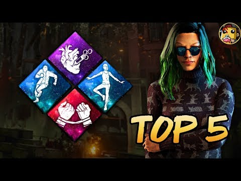 Dead by Daylight - Top 5 Survivor Perks You Need For Beginners!