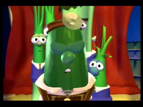 Larry the Cucumber Yodels for 15 minutes