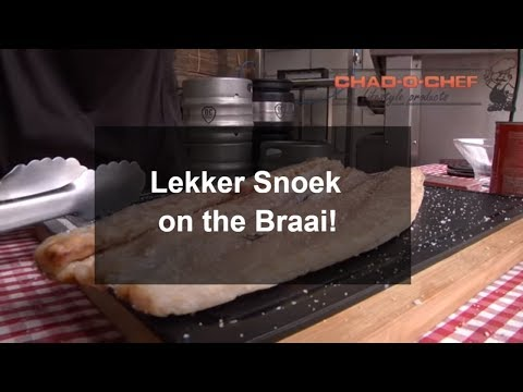 A West Coast Favourite and South African classic: Snoek on the braai - A BraaiBoy TV Recipe