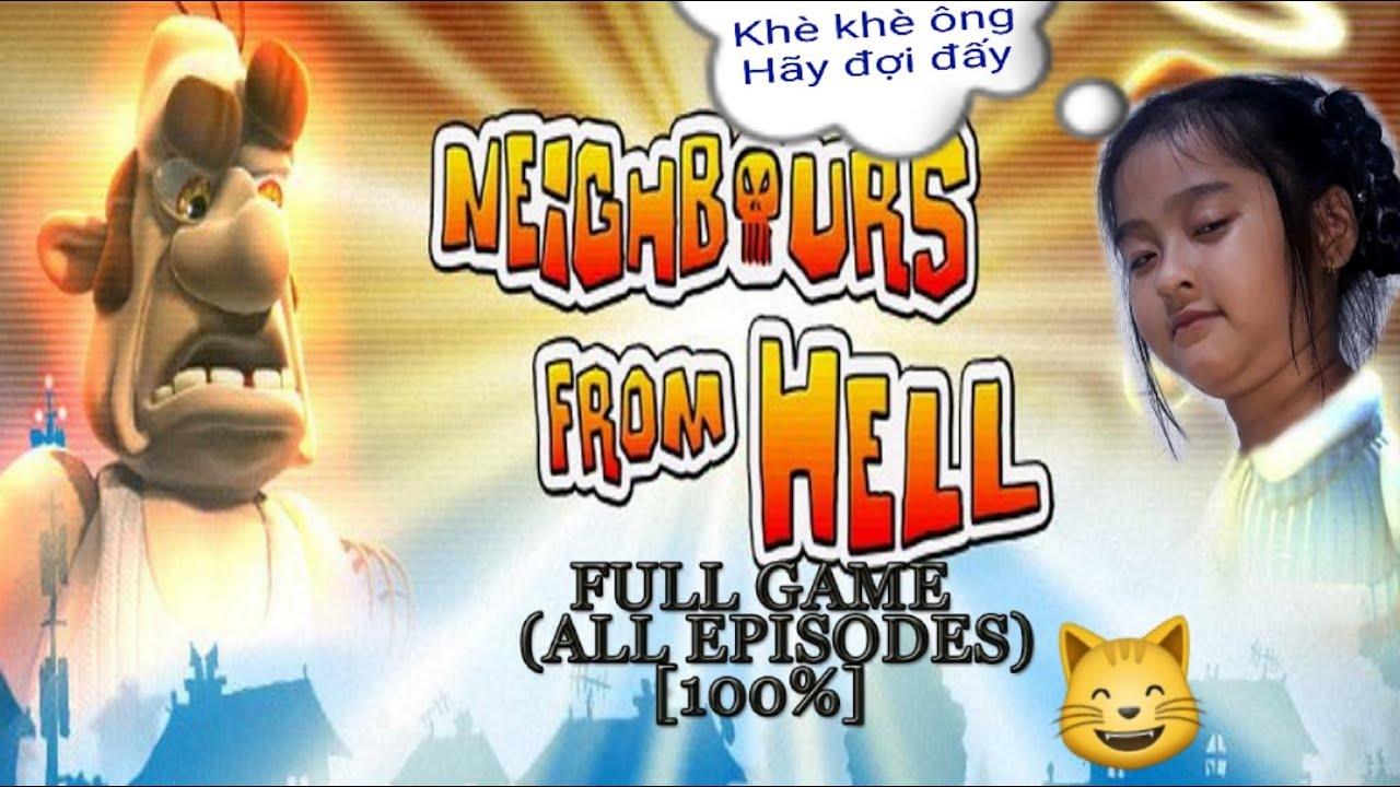 Game vui | Neighbors from hell |  Anh hàng xóm tinh nghịch | Season 2  Part 2