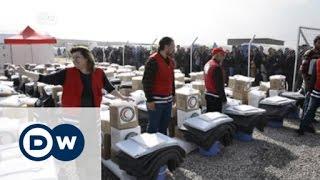 رئيس لجنة الصليب الأحمر يصل مخيمات اللجوء في العراق | الأخبار