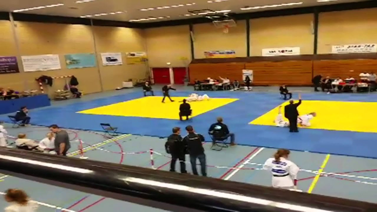 District kampioenschap judo zuid holland den haag overbosch