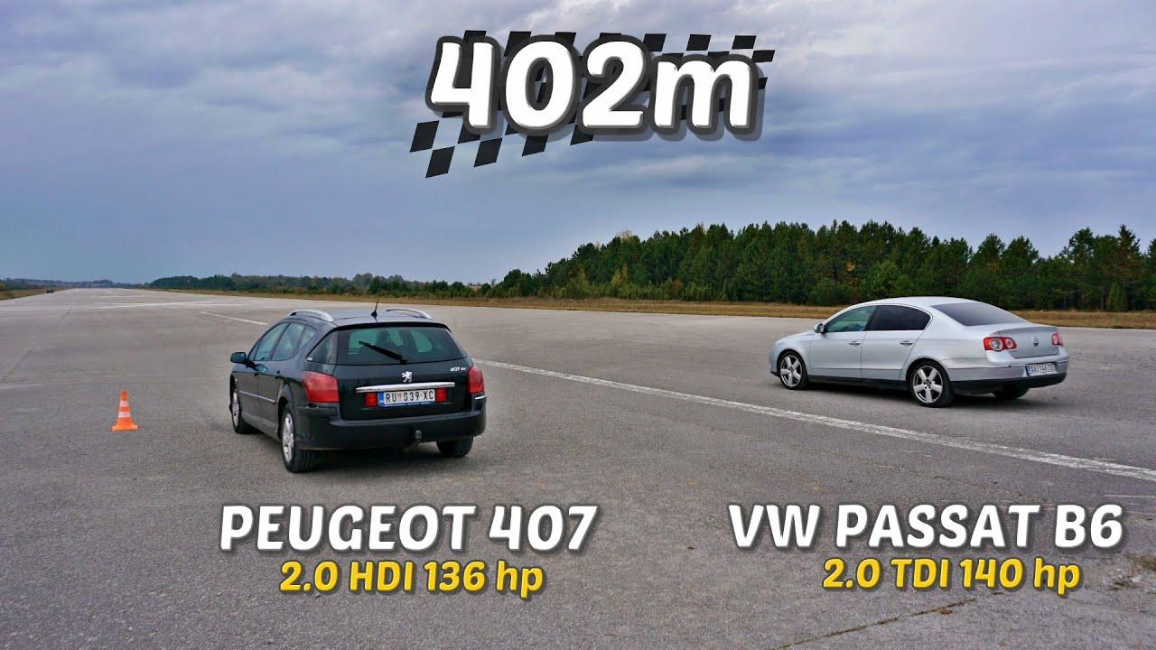 Download 402m: Peugeot 407 vs Passat B6