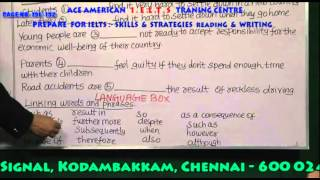 IELTS & TOEFL TRAINING IN CHENNAI -READING & WRITING  PAGE   191   192 ph:9840749872